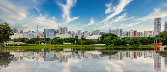Spoed Fotobehang Brazilië Parque Ibirapuera - Sao Paulo - Brazil.