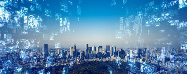 都市とネットワーク  Fotomurales