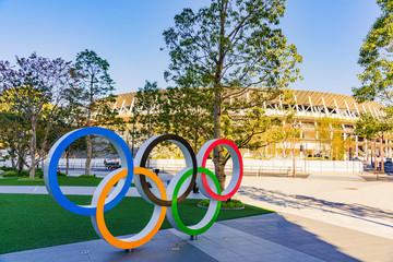 新国立競技場 東京オリンピックのメインスタジアムが完成(2019年11月末に撮影)