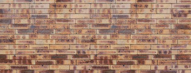 Mur de briques colorées, arrière-plan ou bannière