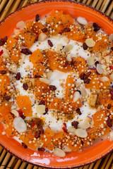 Orangen Frühstück