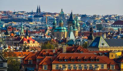 Wall Murals Prague Cityscape of Prague, Czechia