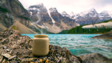Roasted Coffee In The Outdoors