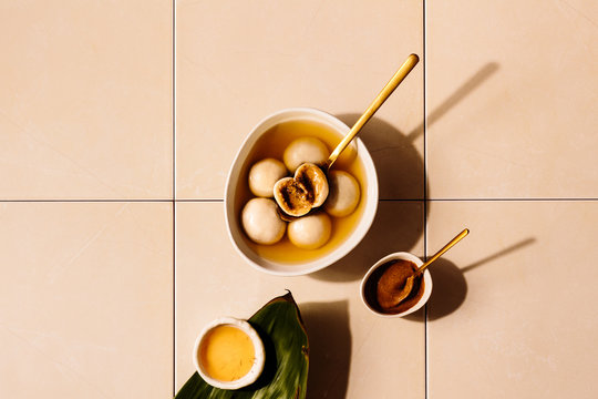 Peanut Butter Tang Yuan