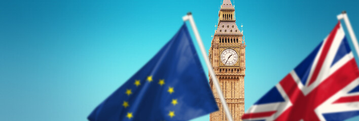 Brexit Konzept - Großbritannien  verlässt die Europäische Union