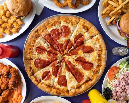 Greasy Pepperoni Pizza