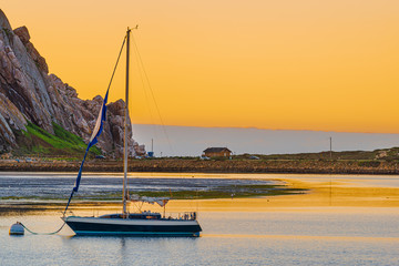 Spoed Foto op Canvas Meloen Morro Bay, California