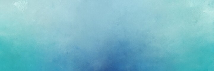 vintage abstract painted background with sky blue, steel blue and cadet blue colors and space for text or image. can be used as header or banner Wall mural