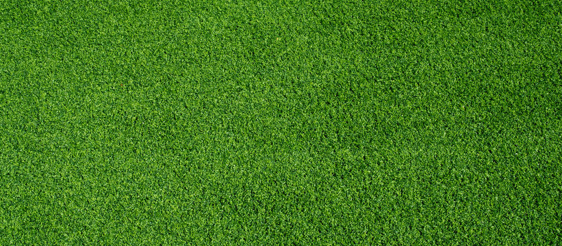 green grass background, football field