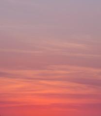 Türaufkleber Koralle beautiful sky and clound sunset,sky background