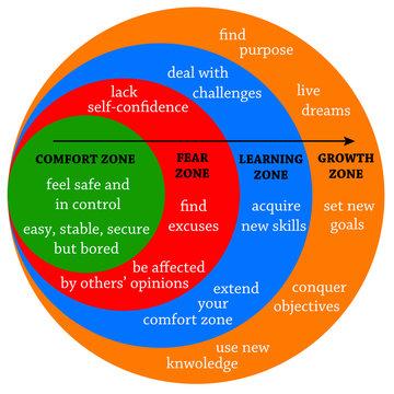 comfort fear learning zone