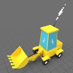 Stylized loader