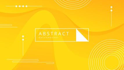 yellow abstract wave background - fototapety na wymiar