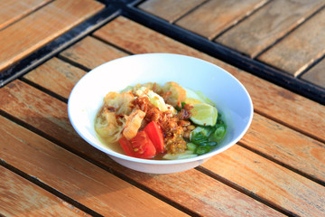 traditional soup from indonesia