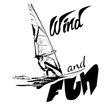 wind and fun Windsurfer