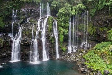 Wall Murals Waterfalls reunion island