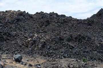 Built of basalt