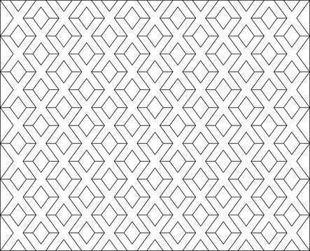White X letter pattern background vector. Repeat X alphabet on white background.