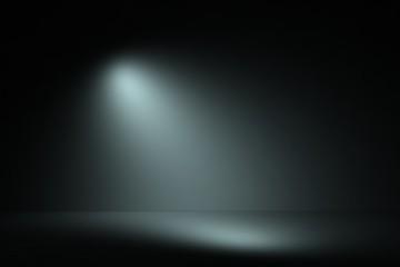 Foto op Textielframe Licht, schaduw Product showcase spotlight background.