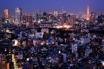 Poster Tokyo 東京の夜景