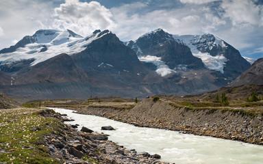 Wall Mural - Jasper National Park, Rocky Mountains, Alberta, Canada