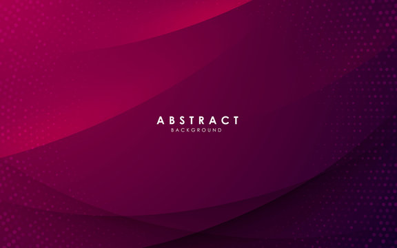 Abstract modern background gradient color. Purple gradient with halftone decoration.