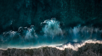 Wall Mural - water and waves