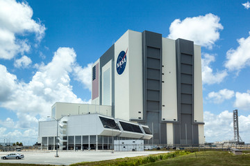 The Vehicle Assembly Building at NASA, Kennedy Space