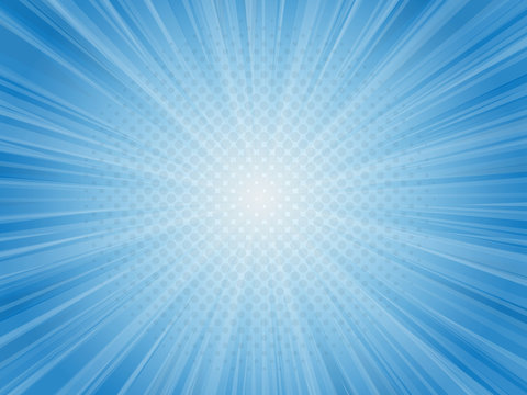 abstract blue light rays vector illustration background