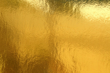 Gold background or texture and Gradients shadow Wall mural