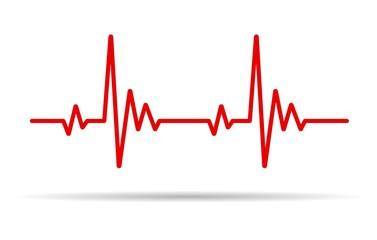 Heart pulse line