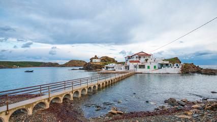 playa de Sa Mesquida en Menorca