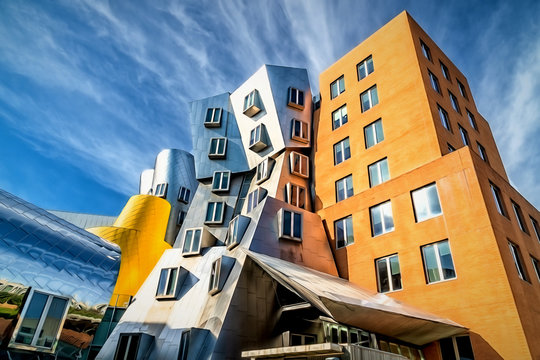 Ray and Maria Stata Center at Massachusetts Institute of Technology