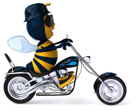 Fun bee - 3D Illustration