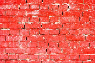 Wall Mural - Red brick wall