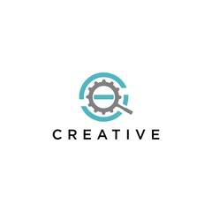 S letter logo simple premium