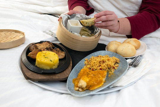 Hotel Room Service Photos Royalty Free Images Graphics Vectors Videos Adobe Stock