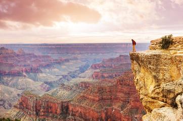 Wall Mural - Hike in Grand Canyon