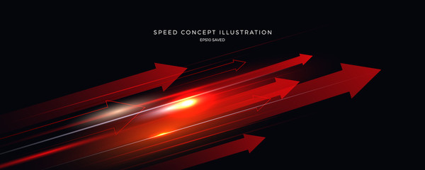 speed concept illustration, fast background