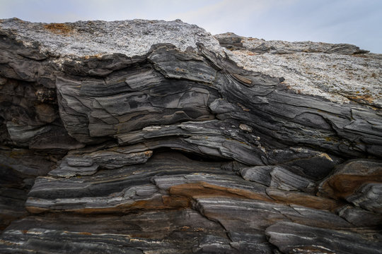 Metamorphic Rock Close Up