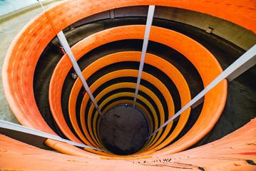 Spiral Parking Structure Orange