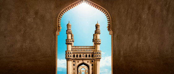 Arch View Charminar.Hyderabad,Telangana,India Fototapete