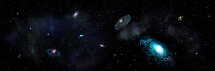 deep space universe Fotomurales