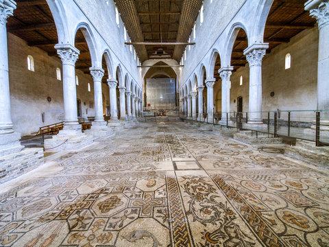 UNESCO Weltkulturerbe, Aquileia Basilika, Italien, Friaul, Julis