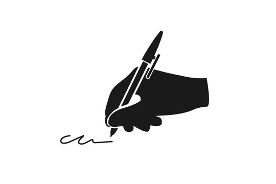 Modern writing icon vector