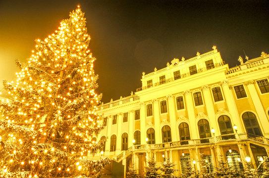 Adventmarkt Schloss Schönbrunn, Österreich, Wien, 13. Bezirk,