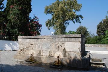 Greece - Kos - Pyli - Dorfbrunnen