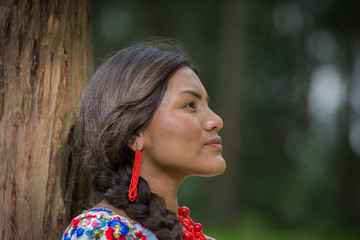 Mirada de mujer latina