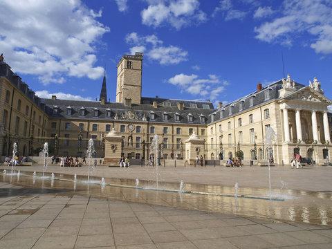 Stadansicht Dijon, Frankreich, Place de la Liberation, Burgund,