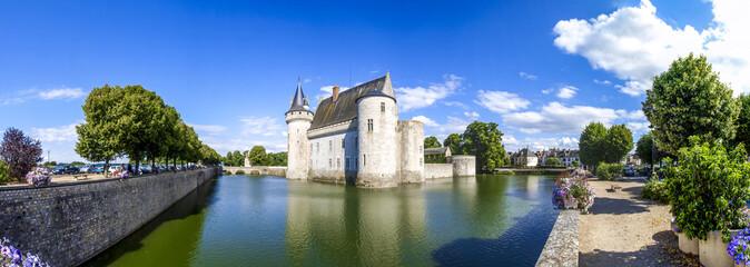 Loire Schloss, Schloss Sully sur Loire, Frankreich, Loire-Tal, S Fototapete